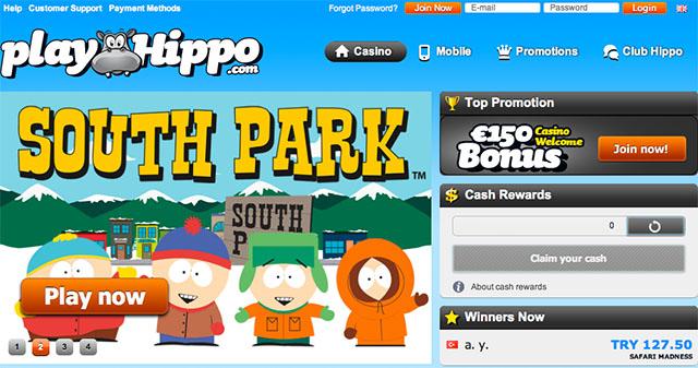 South Park Slot reload bonus