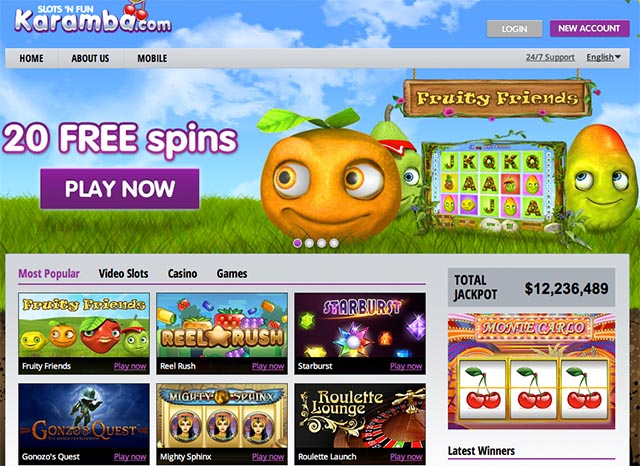 casino free spins no deposit needed