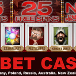 25 No Deposit Free Spins UK, Ireland, Germany, Poland, Russia, Netherlands