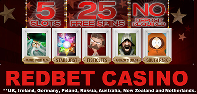 25 No Deposit Free Spins Uk Ireland Germany Poland Russia Netherlands
