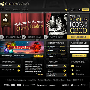 cherry casino uk players