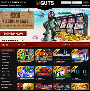 Guts Casino Free Spins No Deposit
