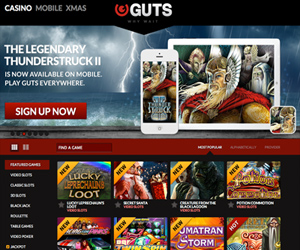 Guts Mobile Casino