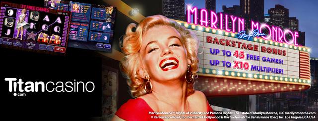 Marilyn Monroe Slot