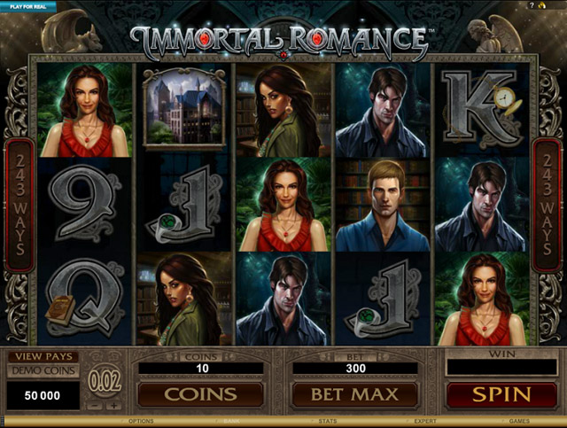 immortal Romance slot-freespins