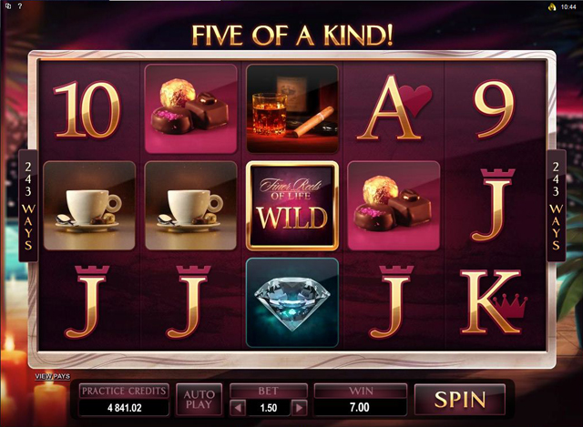 the finer reels of life slot