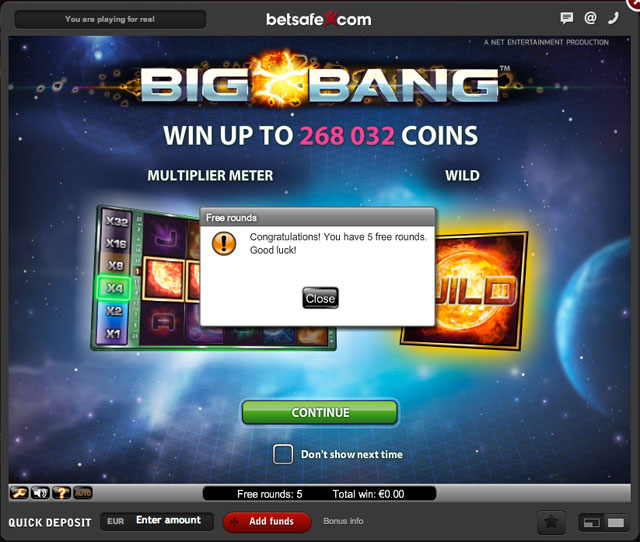BigBangSlot-FreeRounds