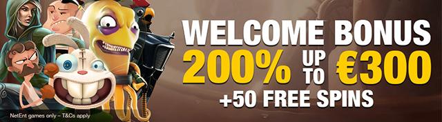 GOLDBET Casino - New welcome offer