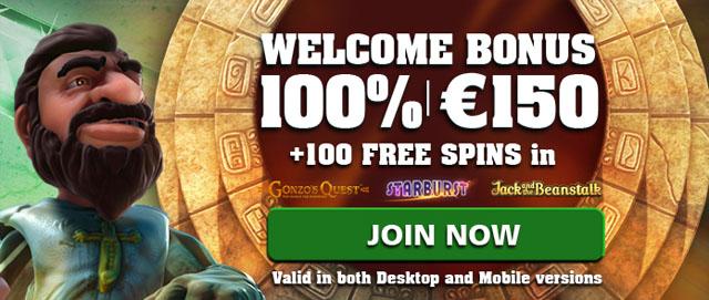 Casinoluck-100-FreeSpins