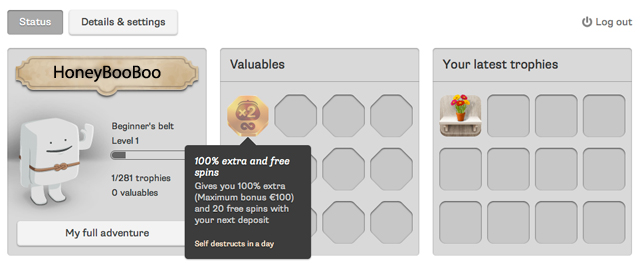 Spiele den Wonky Wabbits Slot bei Casumo.com
