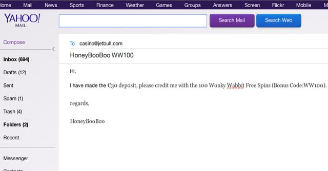 Wonky Wabbit Free Spins