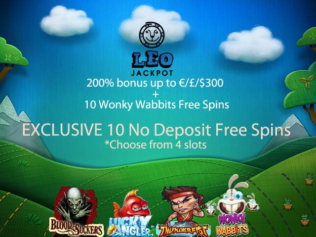 free spins no deposit needed