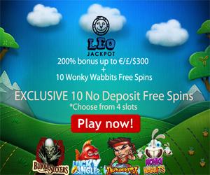 Leojackpot Casino 10 No Deposit free spins on 4 slots2