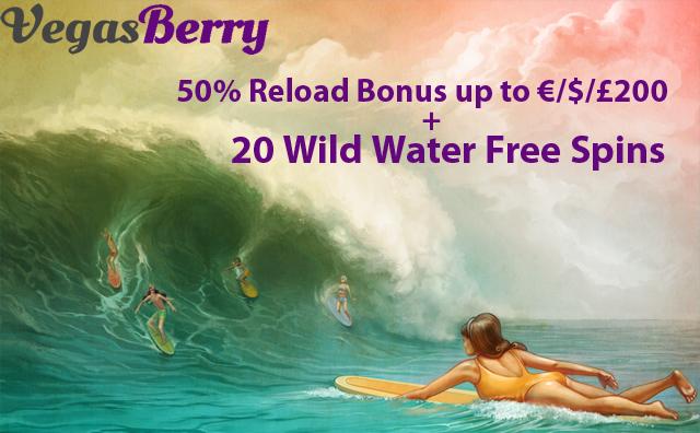 Wild Water Free Spins