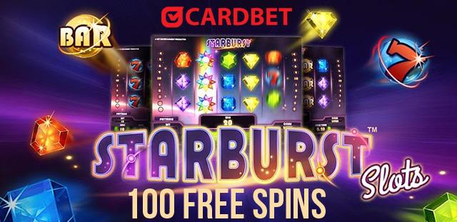 100 Starburst Slot free spins
