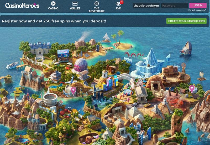 CasinoHEROES-250FreeSpins