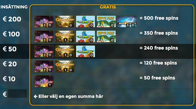 CasinoHeroes - Welcome Offer 500 Free Spins Sweden