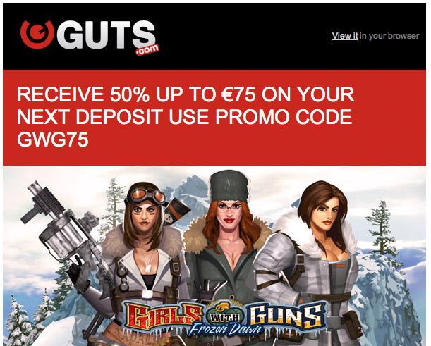guts casino no deposit bonus codes 2016