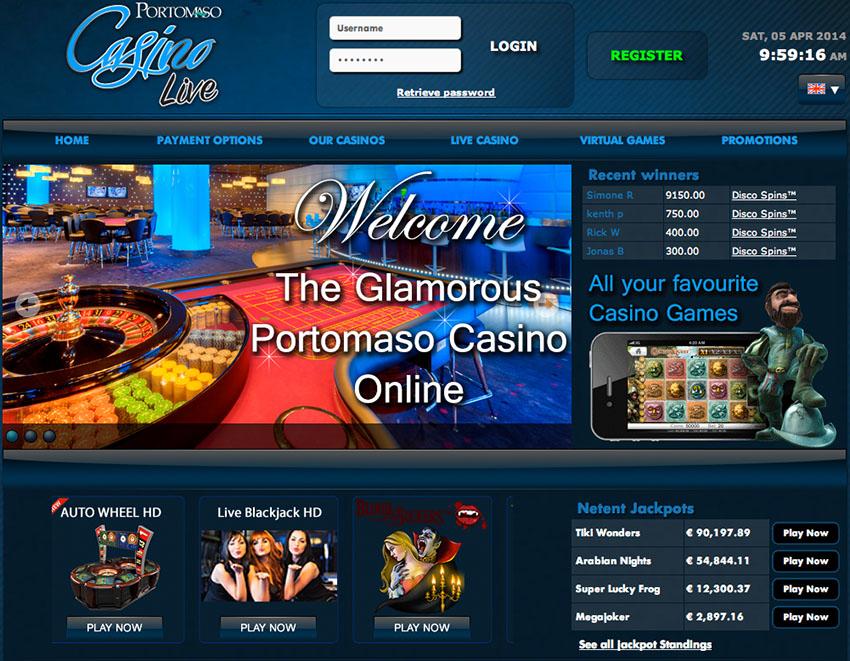 Portomaso Casino Live
