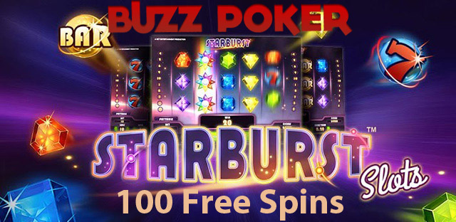 100 Starburst Slot Free SPins