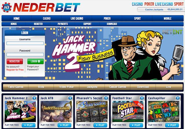 Nederbet Casino Review