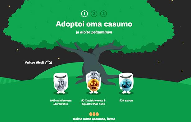 Casumo-no-deposit-free-spins-Sweden-Finland-Norway