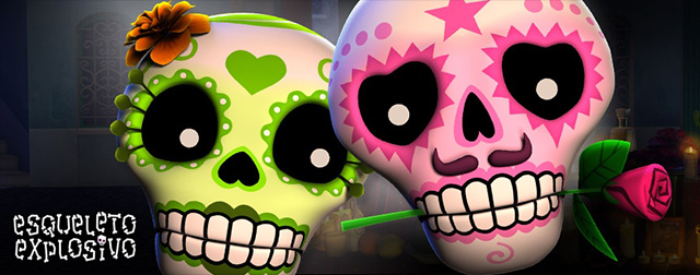esqueleto explosivo thunderkick games