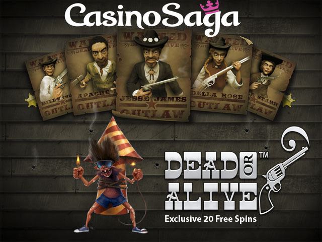 Exclusive Extra 20 Dead or Alive Free Spins