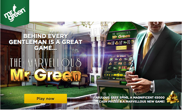 Marvelous Mr Green Online Slot Machine