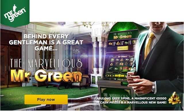 mr green free slot machines