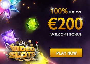 VideoSlots.com Review - €200 Bonus + Get €10 FREE