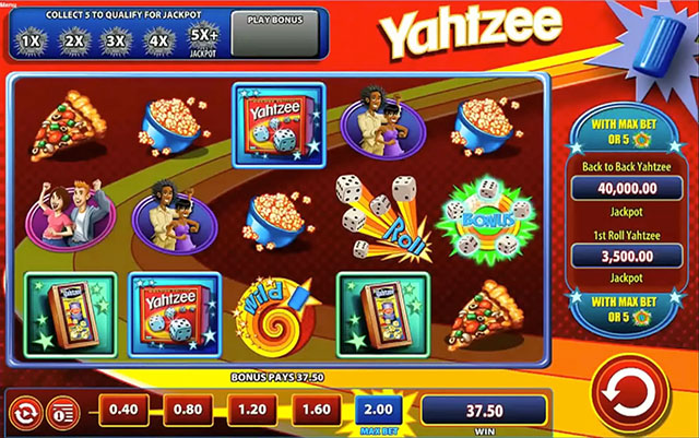 play yahtzee slot machine online