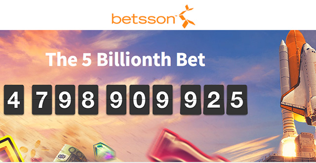 5 Billionth bet