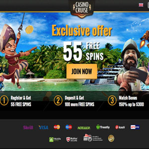 55 Free Spins