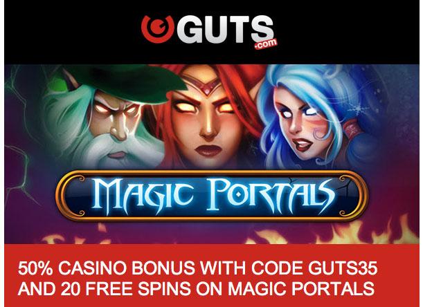 New Guts Bonus Codes - GUTS35