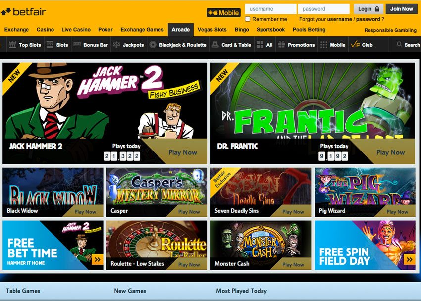 How does betfair casino bonus work