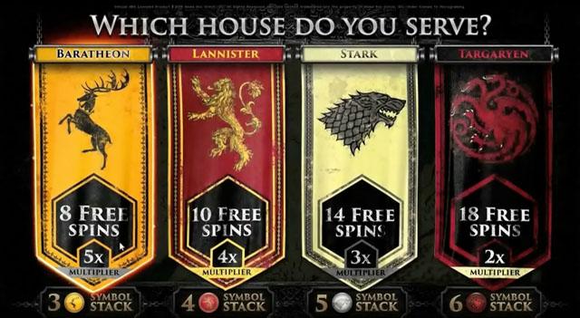 Game of Thrones Bonus features