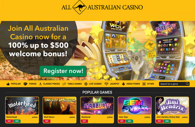 Online casino australia legal 2019