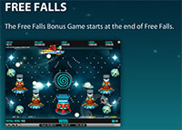 Cosmic Fortune sLOT - Free Falls Bonus Game
