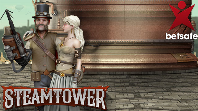 Betsafe - Steam Tower Slot now Live