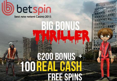 200% Online Casino Welcome Bonus up to a maximum €/£/$ 100