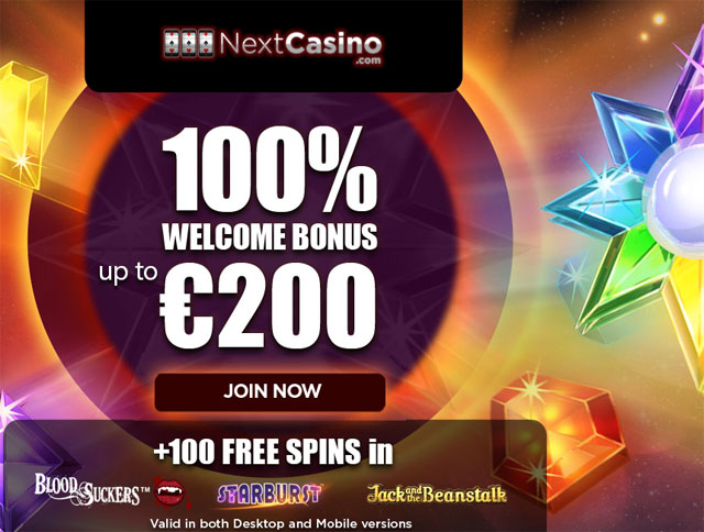 casino promotion 100 spins starburst
