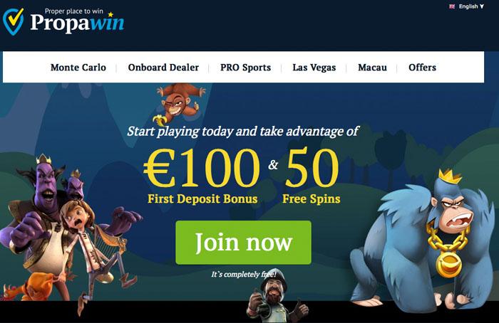 propawin casino no deposit