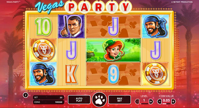 Vegas Party Slot by NetEnt