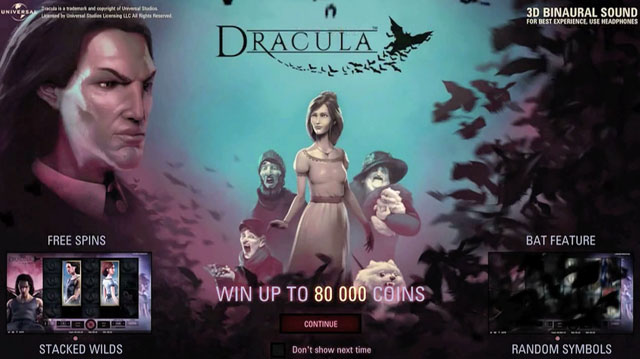 Dracula Slot Screenshot1