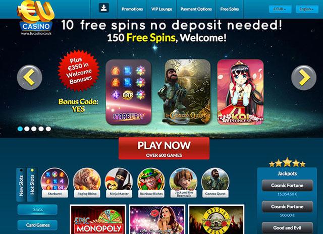 Eu casino no deposit bonus casino ladbrookes
