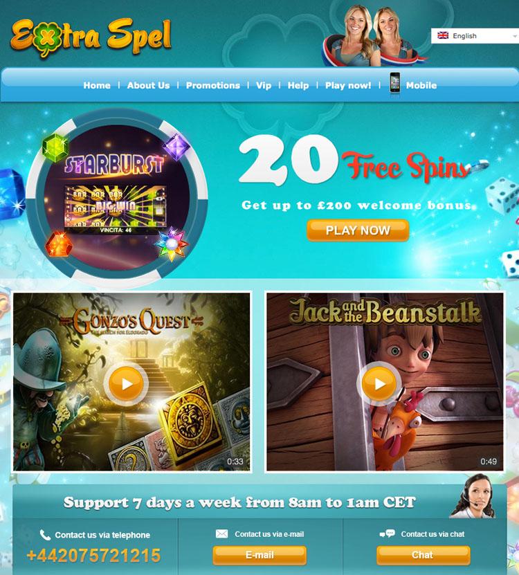 extra spell casino
