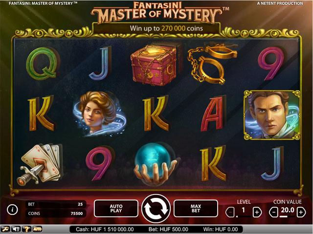 Fantasini: Master of Mystery Slot - NetEnt Casino - Rizk Deutschland