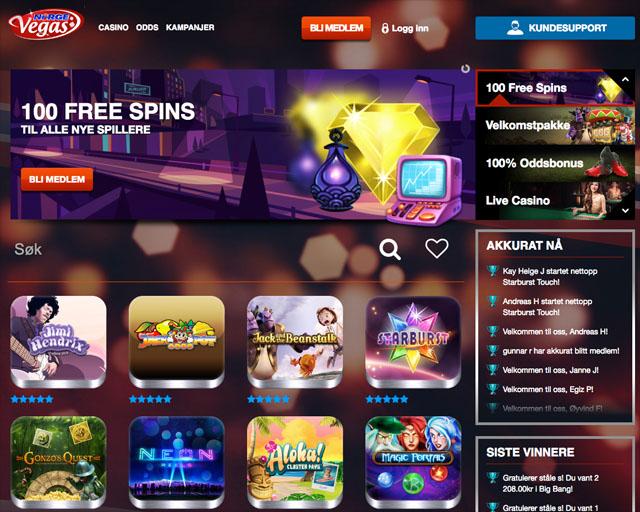 NorgeVegas-Casino