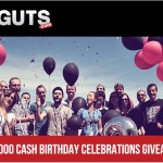 €/£/$35,000 in Cash, Goodies & Free Spins available to celebrate GUTS Casinos' birthday